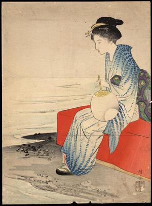 武内桂舟: Outdoor Bench (1) - Ohmi Gallery