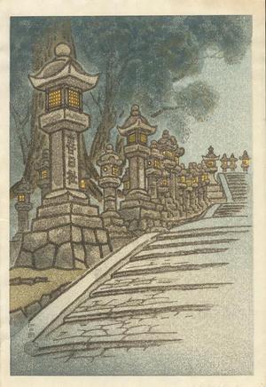 Kotozuka Eiichi: Kasuga Shrine - 春日神社 - Ohmi Gallery