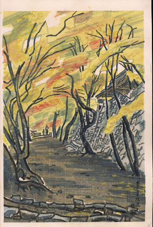 Kotozuka Eiichi: The Road To Ohara Sanzen-In Temple - 大原三千院道 - Ohmi Gallery