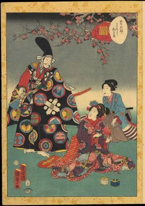 Utagawa Kunisada: Chapter 31- The Cypress Pillar - Ohmi Gallery