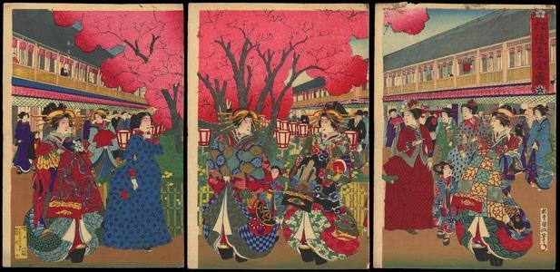 歌川国貞: The Height Of Prosperity In Matsui - Ohmi Gallery