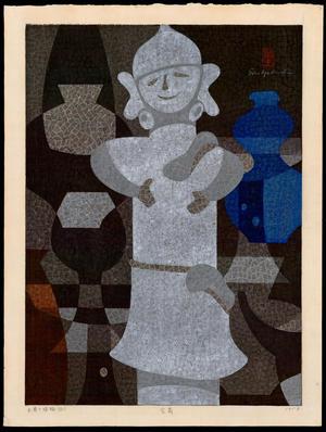 Mabuchi Toru: Earthenware and Haniwa (D) - 土器と埴輪(D) - Ohmi Gallery