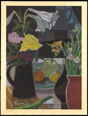 馬淵聖: Sweet Spring at the Table - Ohmi Gallery
