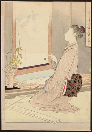 Mishima Shoso: Waiting For Spring (1) - Ohmi Gallery