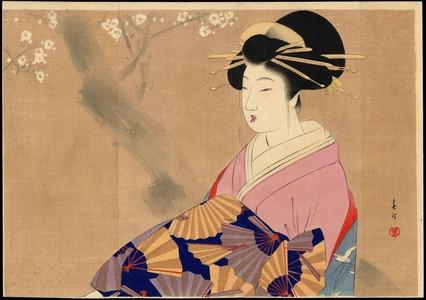 Miyagawa Shuntei: Oiran (Courtesan) (1) - Ohmi Gallery