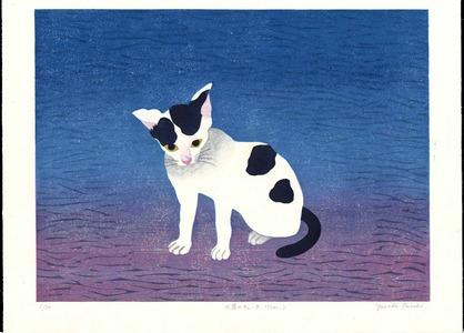 Ohnishi Yasuko: Agar-Agar Kiss (Kitten) - 天草のチユー太(仔ねこ) - Ohmi Gallery