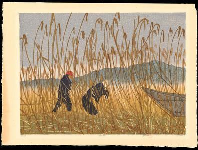Rome, Joshua: Ashikari (The Thatch Cutters) - Ohmi Gallery