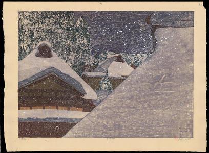 Rome, Joshua: Snowy Night - Ohmi Gallery