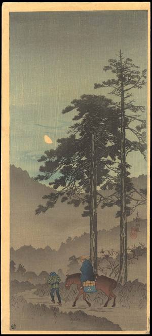 Watanabe Shotei: Oume Kaido - Ohmi Gallery