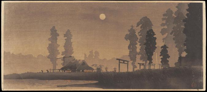 Watanabe Shotei: Ekoda Moon - 江古田の月 - Ohmi Gallery