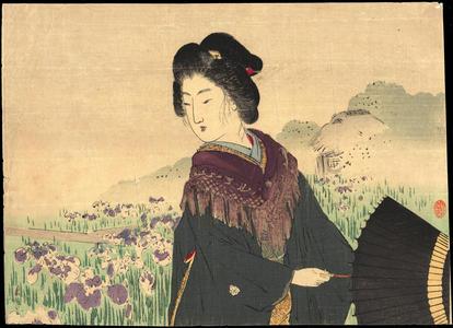 Suzuki, Kason: Iris - あやめ - Ohmi Gallery