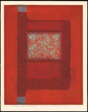 Tajima Hiroyuki: Dialogue With Red (B) - Ohmi Gallery