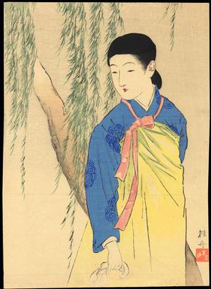 Takeuchi Keishu: Korean Beauty - 韓国の美人 - Ohmi Gallery