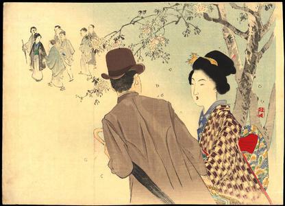 Takeuchi Keishu: Lovers In Spring (1) - Ohmi Gallery