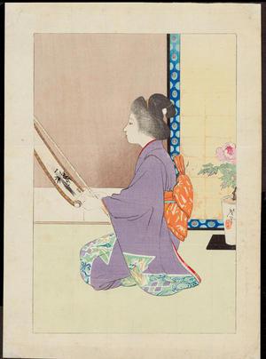 Terazaki, Kogyo: Spring Preparations - 春の仕度 - Ohmi Gallery