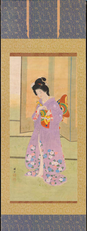 Ikeda, Terukata: Maiko and Maiogi Dance (1) - Ohmi Gallery