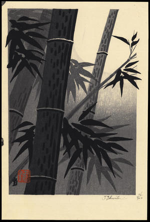 徳力富吉郎: Bamboo and Sun (1) - Ohmi Gallery