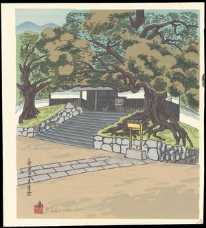 Tokuriki Tomikichiro: Sanjo Awataguchi Shoren-In - 三条粟田口青蓮院 - Ohmi Gallery