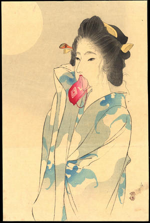 Tomioka Eisen: Beauty and the Moon - Ohmi Gallery