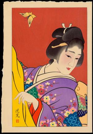 鳥居清満: Spring - 春 - Ohmi Gallery