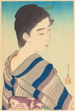 鳥居言人: Early Summer Fine Weather - 五月晴 - Ohmi Gallery