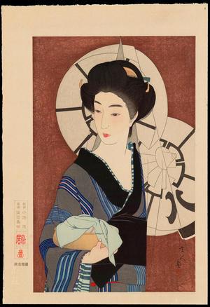 鳥居言人: No. 11 - After The Bath - 湯かへ里 - Ohmi Gallery