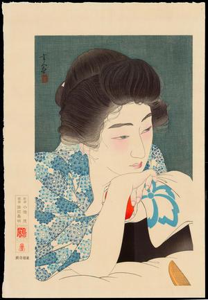 Torii Kotondo: No. 4 - Morning Hair - 朝寝髪 - Ohmi Gallery