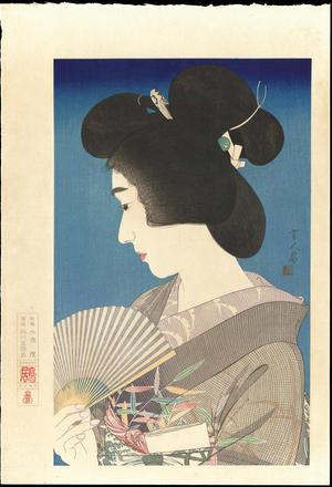 鳥居言人: Summer Geisha - 夏奴 - Ohmi Gallery
