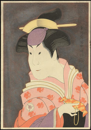 Toshusai Sharaku: Iwai Hanshiro IV as the Wet Nurse Shigenoi - 岩井半四郎 - Ohmi Gallery