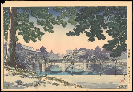 風光礼讃: Nijubashi Bridge - Ohmi Gallery