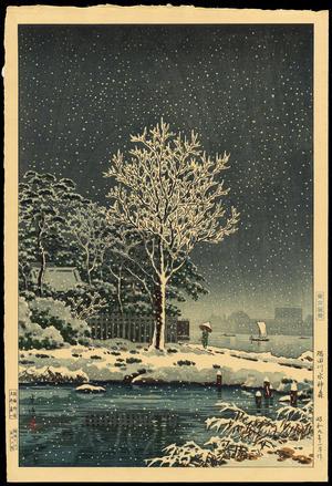 風光礼讃: Sumidagawa Suijin Forest - 隅田川水神森 - Ohmi Gallery