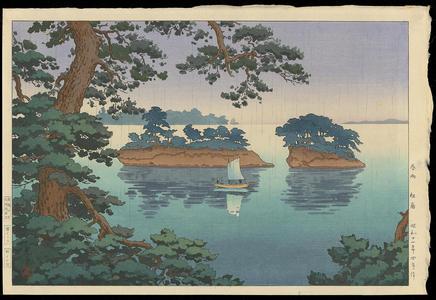 風光礼讃: Spring Rain at Matsushima - 春雨松島 - Ohmi Gallery