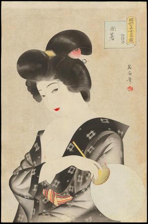 Watanabe Ikuharu: August - Lingering Heat - 紅染月 秋暑 - Ohmi Gallery