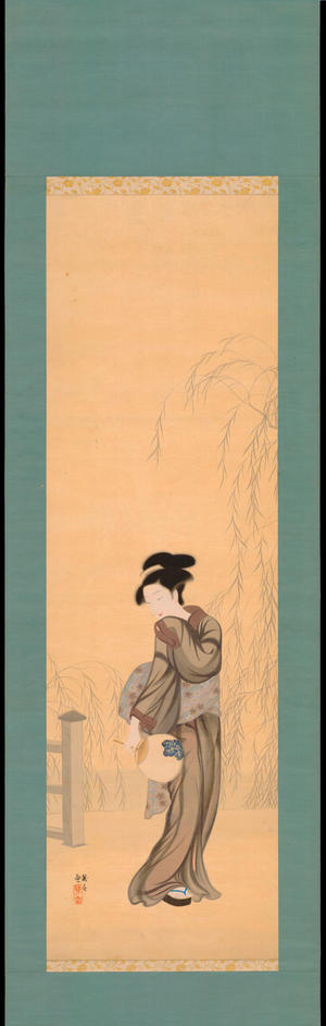 Watanabe Ikuharu: Approaching a Bridge - 橋畔 - Ohmi Gallery