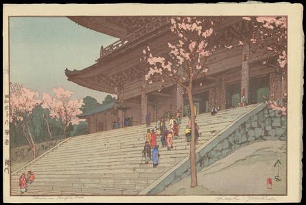 Yoshida Hiroshi: The Choin-in Temple Gate - Ohmi Gallery