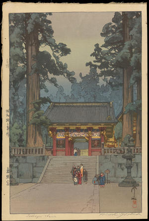 Yoshida Hiroshi: Toshogu Shrine - Ohmi Gallery