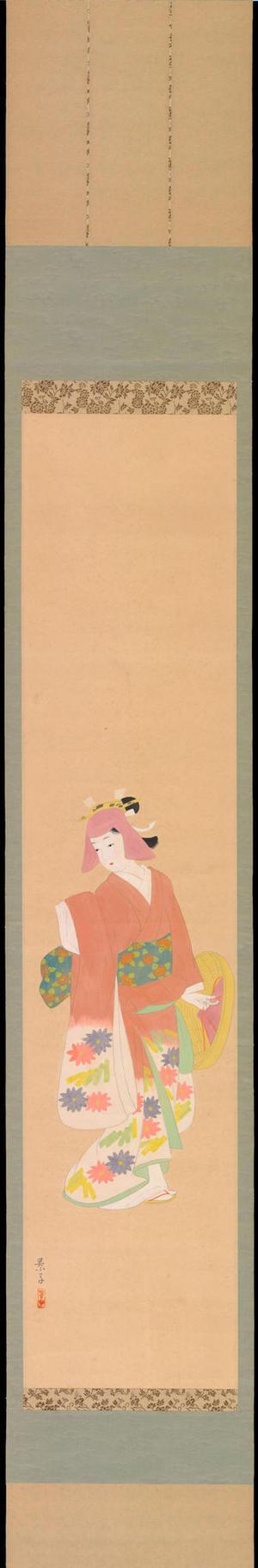 Yurimoto, Keiko: Bijin in Kimono (1) - Ohmi Gallery