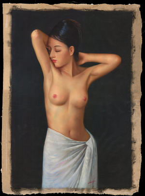 Zhangbo: Nude Virgin with Sun - Ohmi Gallery