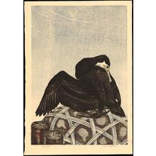 Aoyama, Masaharu: Cormorant (1) - Ohmi Gallery