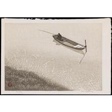 Aoyama, Masaharu: Fishing Boat - つり舟 - Ohmi Gallery
