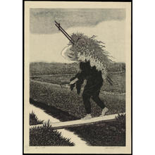 Aoyama, Masaharu: Peasant - 農夫 - Ohmi Gallery