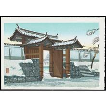 Aoyama, Masaharu: Sakurada Gate - 白梅 - Ohmi Gallery