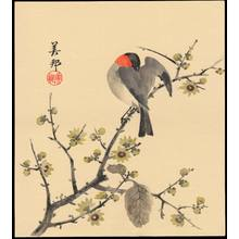 Takahashi, Biho: Bird On Branch (1) - Ohmi Gallery