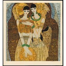 Chen Yongle: Embroideress - Ohmi Gallery