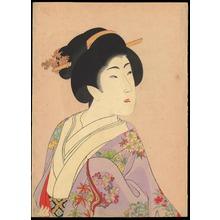 豊原周延: Fujin (a Woman) - 真美人 (1) - Ohmi Gallery