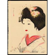 Domoto Insho: Maiko - 舞妓の図 - Ohmi Gallery