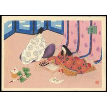 前田政雄: Print 23 - Hatsune - 初音 - Ohmi Gallery