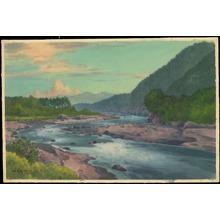 Fukaya, H: Flowing River (1) - Ohmi Gallery