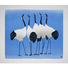 Hao Boyi: Cranes Sing For Harbinger Of Spring - Ohmi Gallery