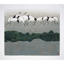Hao Boyi: Early Spring of the Old Marsh - 早春峰古 - Ohmi Gallery